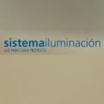 Logo de sistema iluminacion
